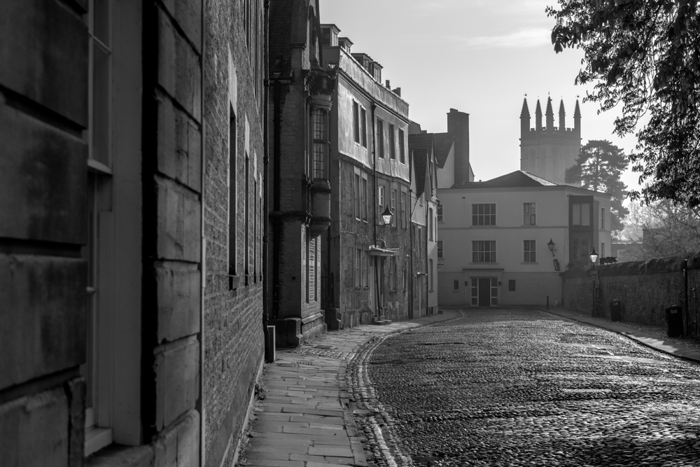 Merton Street with Magdalen College tower