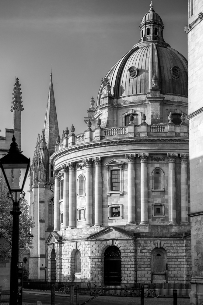 The Radcliffe Camera and the Church of St. Mary the Virgin